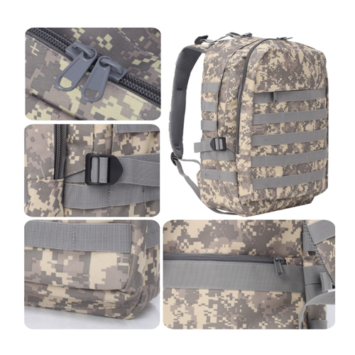 Large capacity tactical backpack