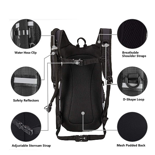 Cycling hydration pack