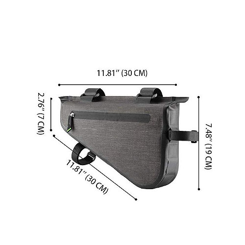 mountain bike triangle bag
