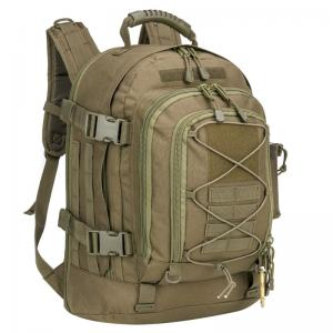 Military expandable waterproof hiking backpack