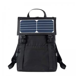 Solar backpack with solar charger
