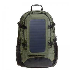 Solar backpack with solar panel