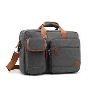 Canvas briefcase protective messenger bag - New Style Bags