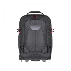 Rolling camera backpack trolley case
