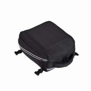 Motorcycle rear seat bag