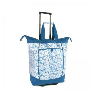 Tote bag with wheels