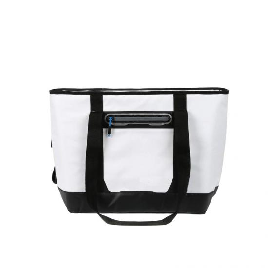 Portable cooler bag