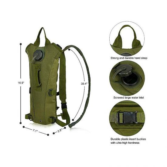 Military hydration pack