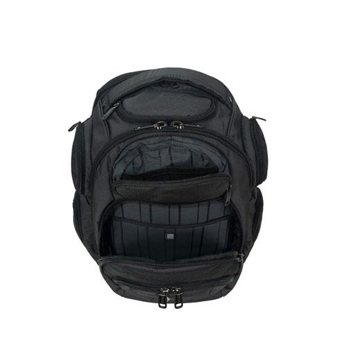 Backpack with trolley strap
