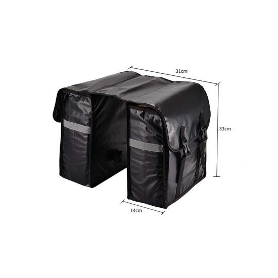 Bicycle rear panniers