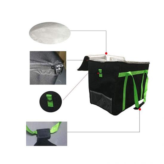 Commercial food delivery bag